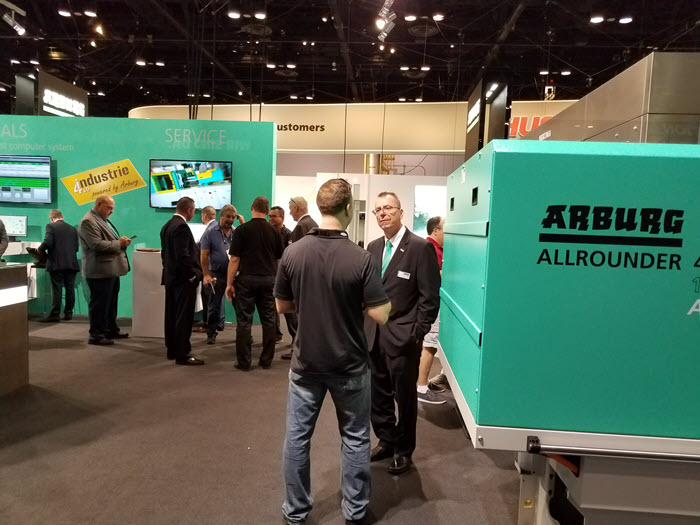 ARBURG Exhibited a Vast Set of Solutions at NPE 2018