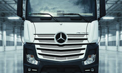 Ineos Styrolution Provides Styrenic Material for Daimler ACTROS Truck Part